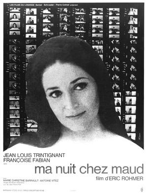 Ma nuit chez Maud - Poster France