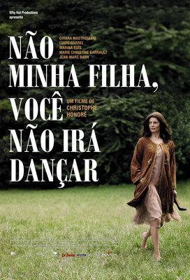Non ma fille tu n'iras pas danser - Affiche Brésil