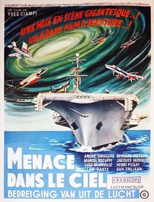 El Ataque viene del espacio - Poster Belgiquea