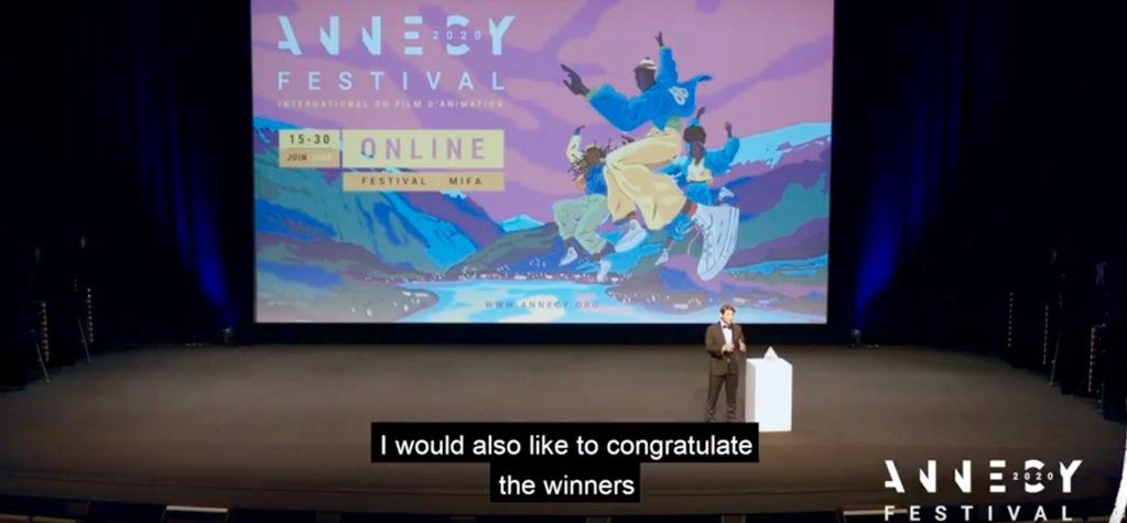 Un excelente palmarés francés en el 60° Festival Internacional de Cine de Animación de Annecy