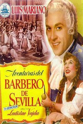 Aventuras del barbero de Sevilla - Poster Espagne