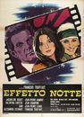La Nuit américaine - Poster Italie