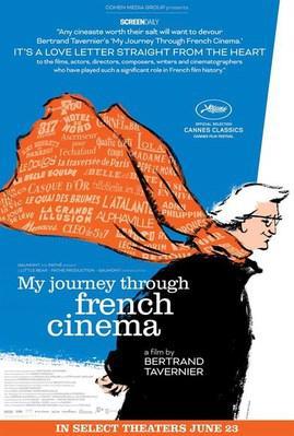 Voyage à travers le cinéma français - Poster - USA