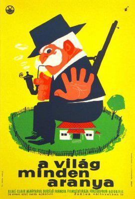 すべての金の世界 - Poster Hongrie