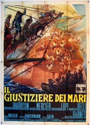 Le Boucanier des îles - Poster Italie
