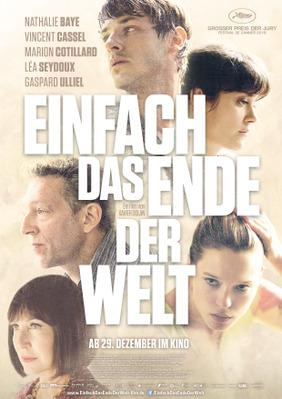 It's Only the End of the World - Poster - Germany