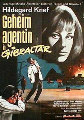 Gibraltar (Alerte à Gibraltar) - Poster Allemagne
