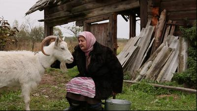 Granny, Vanya and the Goat