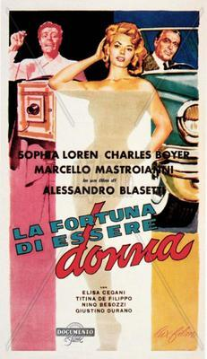 Lucky to Be a Woman - Poster - Italy