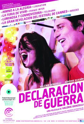 Declaración de guerra - Poster - Chili
