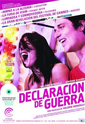 La Guerre est déclarée - Poster - Chili