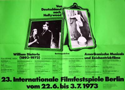 Berlin International Film Festival - 1973