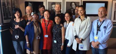 Entrega de los 14° Premios UniFrance de cortometraje en Cannes
