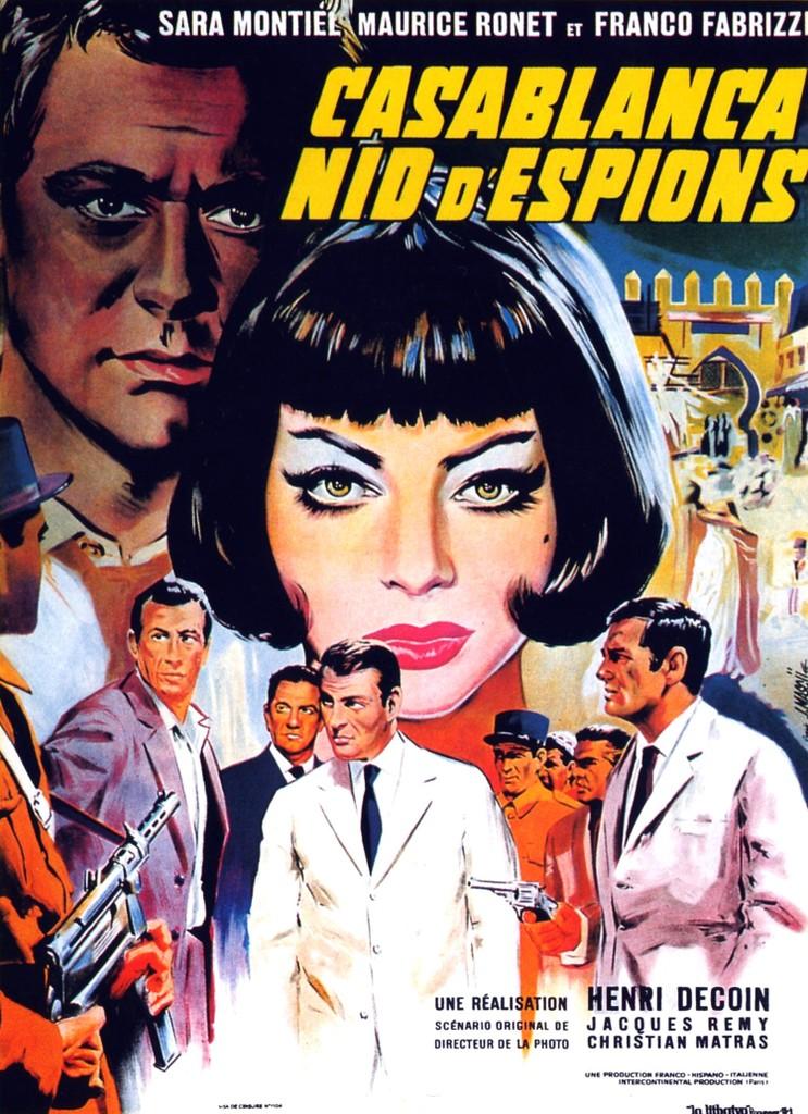 Casablanca, nid d'espions