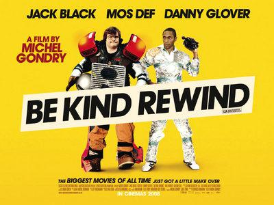 Be Kind Rewind - Affiche Grande-Bretagne (UK)