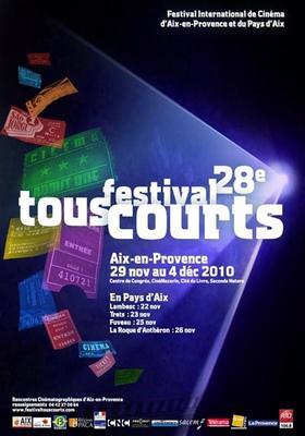 Festival Tous Courts de Aix-en-Provence - 2010