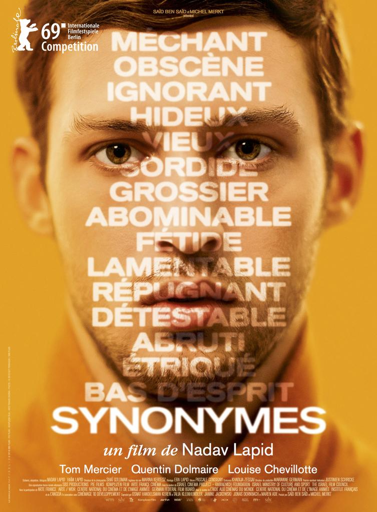 Resultat d'imatges de cartel synonymes berlinale