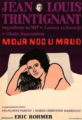 Mi noche con Maud - Poster Pologne