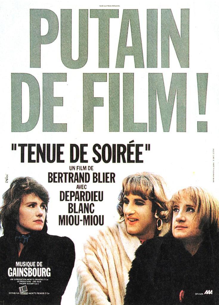 Traje de etiqueta - Poster France