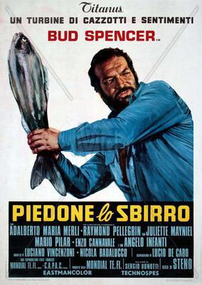 El Super poli  - Poster Italie