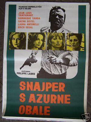 Sans mobile apparent - Poster Yougoslavie