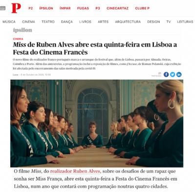 Revue de presse - Octobre 2020