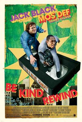 Be Kind Rewind - Affiche Etats-Unis (USA)