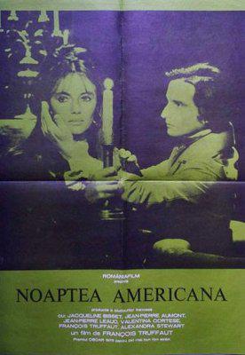 La Nuit américaine - Poster Roumanie