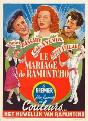 Le Mariage de Ramuntcho - Poster Belgique