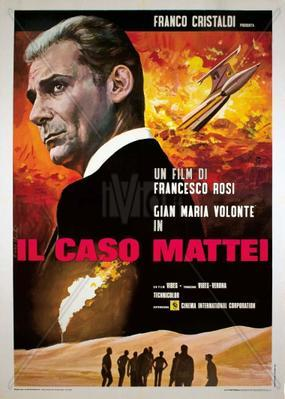 L'Affaire Mattei - Poster - Italy