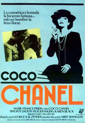 Chanel solitaire - Poster Espagne