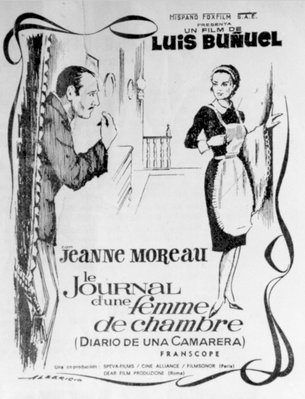 Diary of a Chambermaid - Poster Espagne