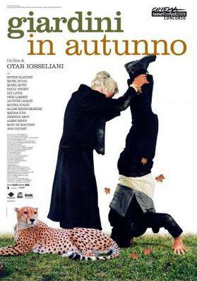 Jardines en otoño - Poster Italie