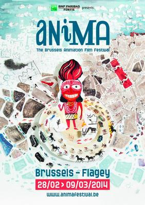 Brussels Cartoon and Animated Film Festival (Anima) - 2014