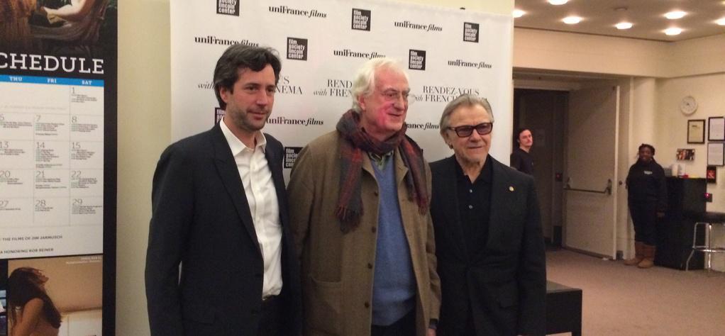 Tavernier clausura los 19° RV with French Cinema de Nueva York