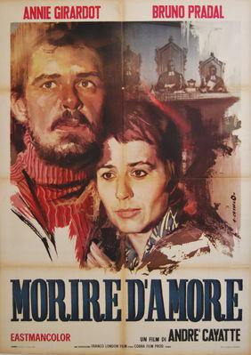 Morir de amor - Poster Italie