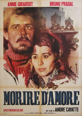 To Die of Love - Poster Italie