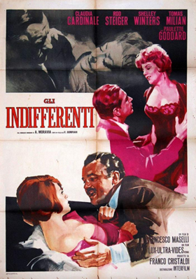 Time of Indifference - Poster - Italy