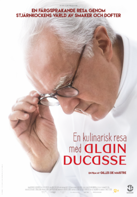La Quête d'Alain Ducasse - Poster - Sweden