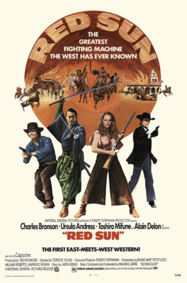 Red Sun - Poster - USA