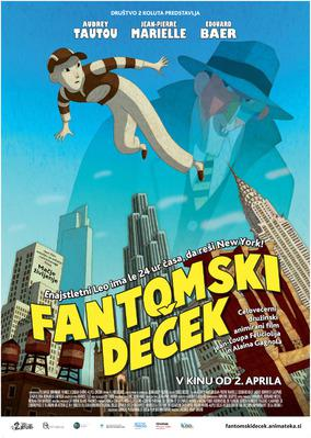 Phantom Boy - Poster - Slovenia
