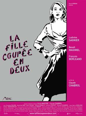La Fille coupée en deux - Poster - France