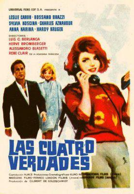 Los Cuatro verdades - Poster Espagne