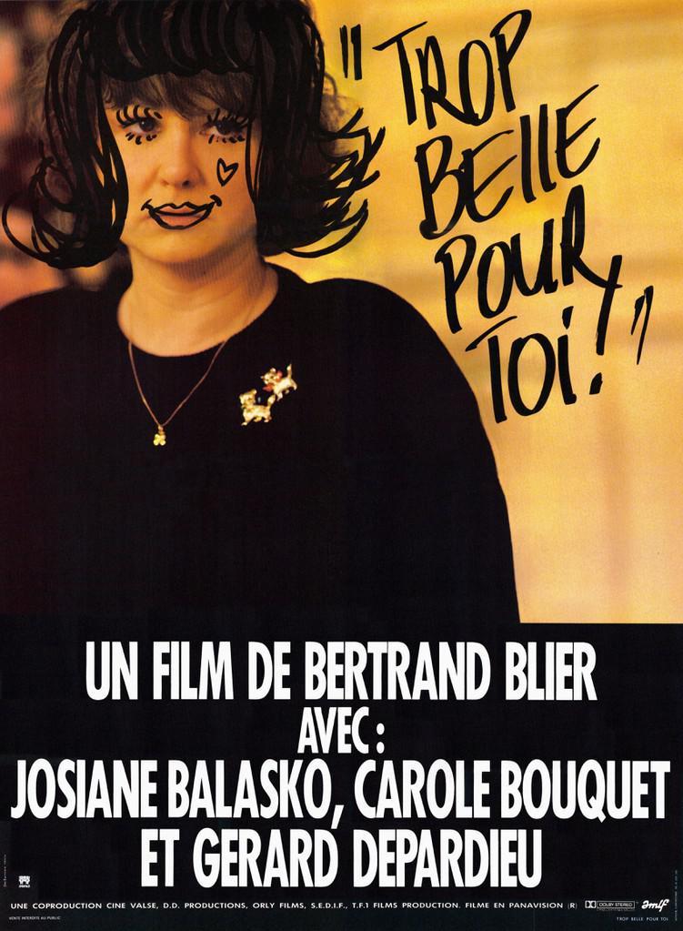 Trop belle pour toi - Poster France