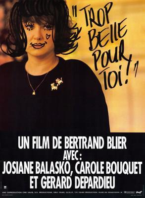 美しすぎて - Poster France