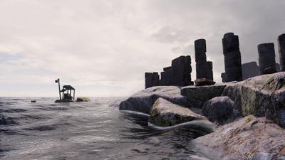 L'Île des morts VR - © Benjamin Nuel