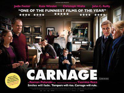 Carnage - Poster - UK