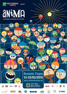 Brussels Cartoon and Animated Film Festival (Anima) - 2015