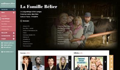 Le site Unifrance.org fait peau neuve - Nouvelle fiche film - www.unifrance.org