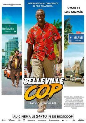 Belleville Cop - Poster - Belgique